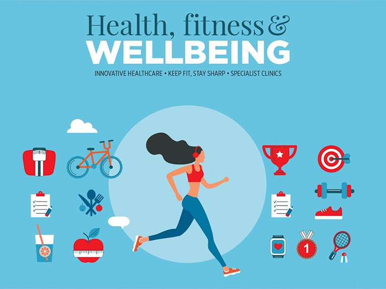 Health, Fitness & Wellbeing cover